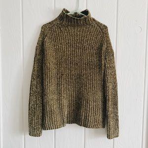Sweaters - Mock Neck Chenille Sweater